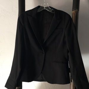 Theory one button jacket